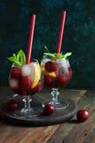 Cherry mojito Stock Photos