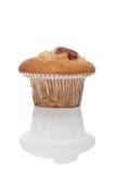 Cherry muffin Stock Photo