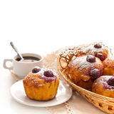 Cherry Muffins foto de stock royalty free