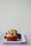 Cherry Muffins Immagine Stock