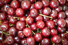 Cherry. Nutrition red cherry freshness fruit Stock Images