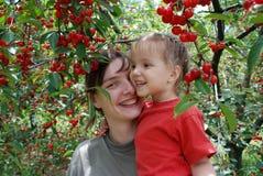 Cherry Orchard Fotografie Stock Libere da Diritti