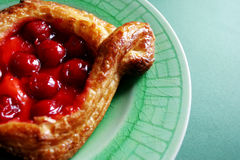 Cherry pastry Royalty Free Stock Photography