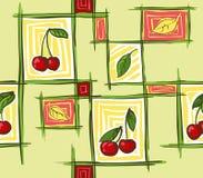 Cherry_pattern Lizenzfreie Stockfotografie