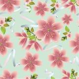 Cherry Pattern Imágenes de archivo libres de regalías