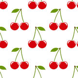 Cherry pattern Stock Image