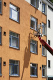 Cherry picker Stock Photo