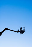 Cherry Picker Silhouette Stock Images