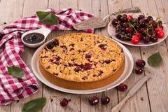 Cherry pie. Stock Images