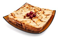 Cherry pie Royalty Free Stock Images