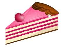 Cherry pie stock illustration