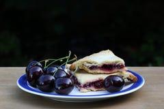 Cherry Pie Immagini Stock Libere da Diritti