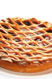 cherry pie Στοκ Εικόνα