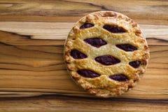 Cherry Pie Fotografia Stock Libera da Diritti
