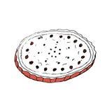 Cherry Pie Foto de archivo