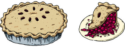 Cherry Pie Royalty Free Stock Photo