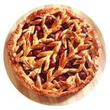 Cherry Pie casalinga deliziosa Fotografia Stock