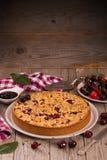Cherry pie. Stock Image