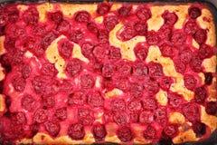 Cherry pie close up Royalty Free Stock Photo