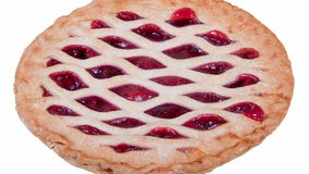 Cherry Pie stock video footage