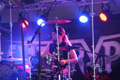 Cherry Pie In Concert Arkivfoto