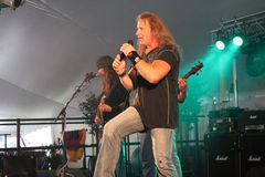 Cherry Pie In Concert. @ Music Off Main Street in West Bend Wisconsin 2014 Royalty Free Stock Image