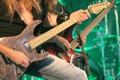 Cherry Pie In Concert. @ Music Off Main Street in West Bend Wisconsin 2014 Stock Images