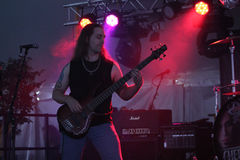Cherry Pie In Concert. @ Music Off Main Street in West Bend Wisconsin 2014 Royalty Free Stock Photo