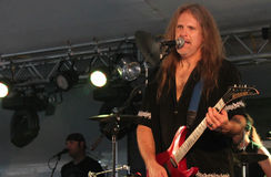 Cherry Pie In Concert. @ Music Off Main Street in West Bend Wisconsin 2014 Stock Photography