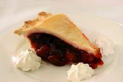 Cherry pie dessert Stock Photography