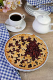 Cherry pie Stock Image