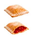 Cherry Pie ha isolato Fotografia Stock Libera da Diritti