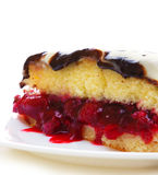 Cherry Pie. Stock Photo
