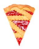 Cherry Pie Slice stock image