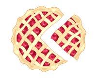 Cherry Pie Slice illustration de vecteur