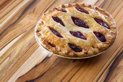 Cherry pie Royalty Free Stock Photography