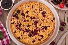 Cherry pie. Stock Photo