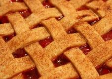 Free Cherry Pie With Lattice Top Stock Photography - 13739552