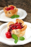 Cherry Pies Stock Images