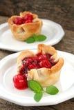Cherry Pies Stock Images