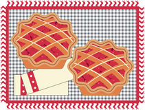 Cherry Pies Royalty Free Stock Photos