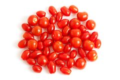 Cherry plum tomato Stock Photos