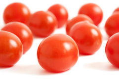 Cherry plum tomato Stock Images