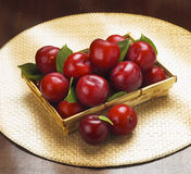 cherry plums Stock Photography