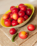 Cherry-plums Stock Photo