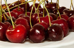 Cherry red Stock Photos