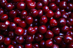 Cherry red, close-up Stock Image