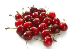 Cherry red fruits texture Stock Photography