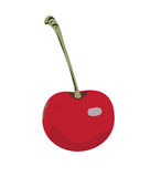 Cherry red. Royalty Free Stock Image