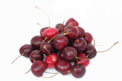 Cherry red isolated Stock Photos